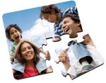 Glossy Square Coaster Puzzle Misc. Gift Awards